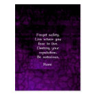 Be Notorious Rumi Inspirational Quote Postcard