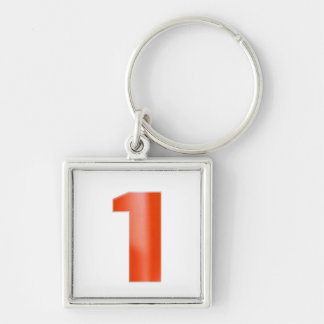 Be NUMBER ONE - Keep right color image association Key Ring