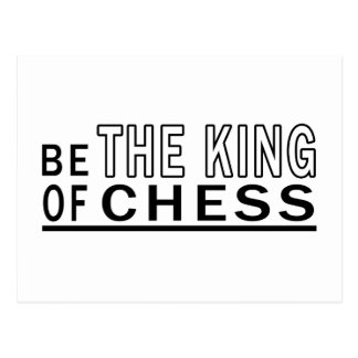 Be Of The King Of Chess Postcard