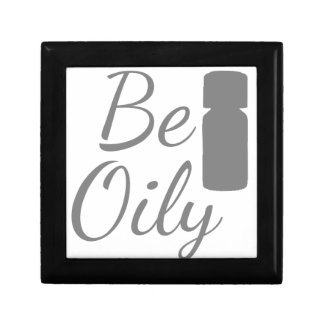 Be Oily Small Square Gift Box