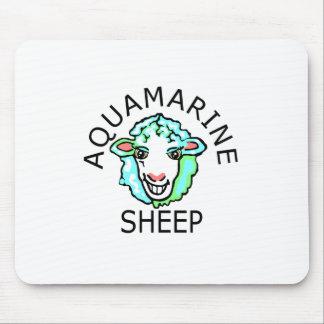 Be Original- Aquamarine Sheep Mouse Pad