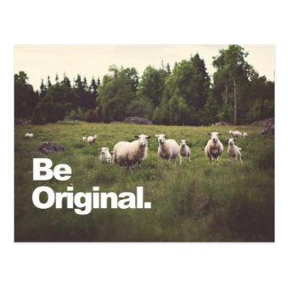 Be Original Postcard