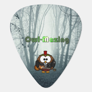 Be Owl-Mazing and POW! Plectrum