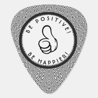 Be positive! Be happier! Plectrum