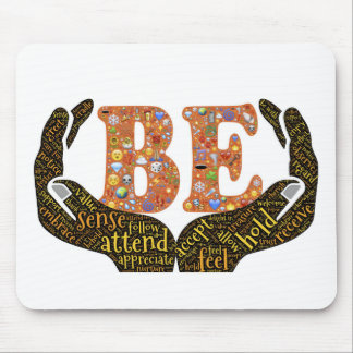 Be positive mouse pad