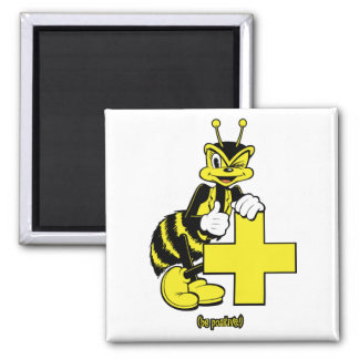 Be Positive Square Magnet