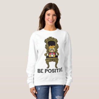 Be Positive Teddy Women's Sweatshirt