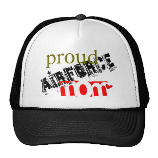 Be proud of being an airforce mom hats