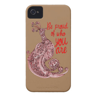 Be Proud of Who You Are iPhone 4 Case