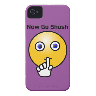 Be Quiet and Go Shush iPhone 4 Case