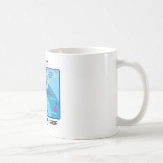 Be Quiet! Silencer RNA Inside (Cell Biology) Coffee Mug