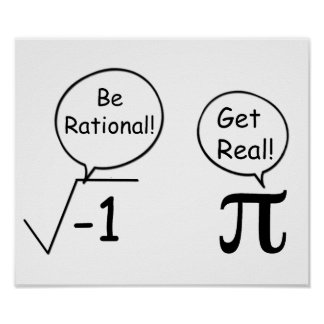 Be Rational, Get Real! Poster