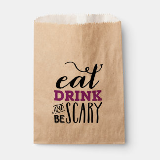 BE SCARY | HALLOWEEN FAVOR BAG