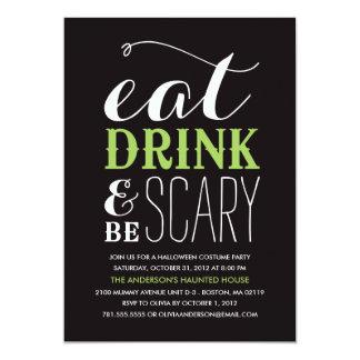 BE SCARY  | HALLOWEEN PARTY INVITATION