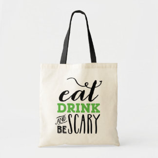 BE SCARY   HALLOWEEN TOTE BAG