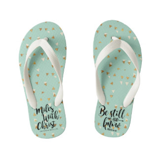 BE STILL AND KNOW - PSALM 40:10 KID'S THONGS