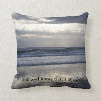 Be Still Beach Pillow