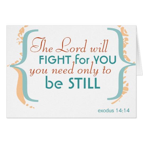 Be Still Card