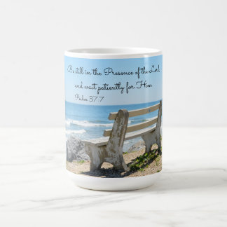 Be Still in the Presence of the Lord, Psalm 37:7 Coffee Mug