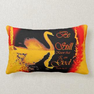 Be Still ... Know that I am God Lumbar Cushion