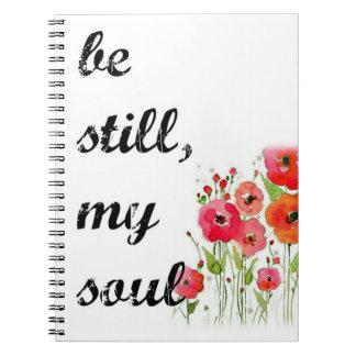 """Be still my soul"" journal / prayer journal"