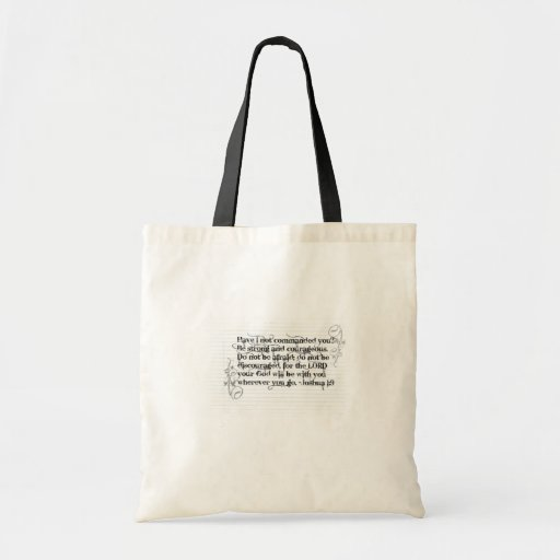 Be Strong Canvas Bag