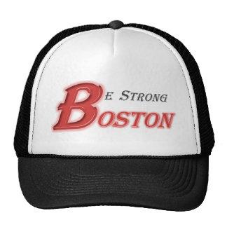Be Strong Boston Trucker Hat