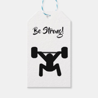 Be Strong Gift Tags