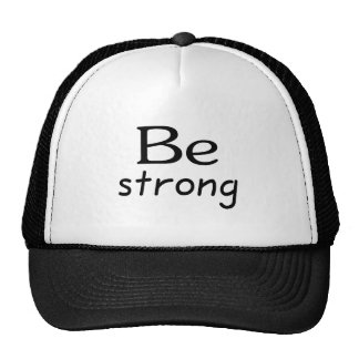 Be Strong Mesh Hats