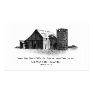 BE STRONG IN THE LORD: ENCOURAGEMENT CARDS BUSINESS CARDS