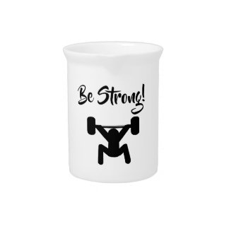 Be Strong Pitcher