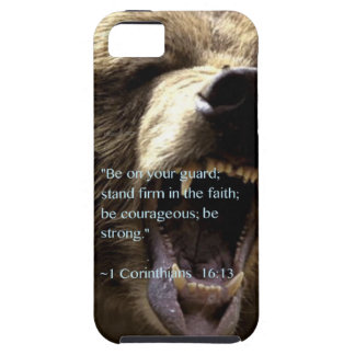 """Be strong"" Tough iPhone 5 Case"