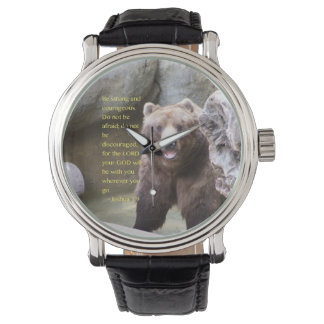 """""""Be strong"""" Wrist Watch"""
