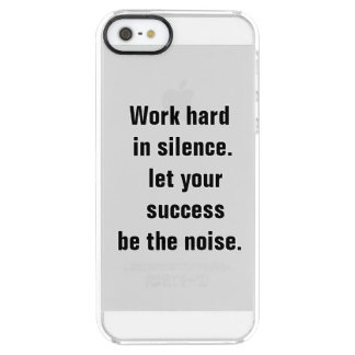 Be successful iPhone 5/5s Clearly™ Deflector Clear iPhone SE/5/5s Case