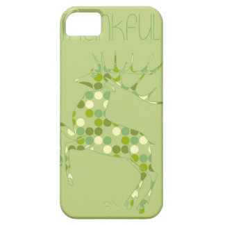 Be Thankful, Deer iPhone 5 Cover