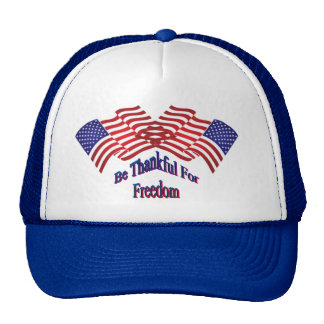 Be Thankful For Freedom Cap