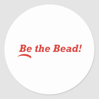 Be the Bead Classic Round Sticker