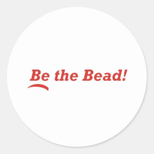 Be the Bead Sticker