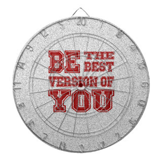 Be the Best Version of You Dartboard