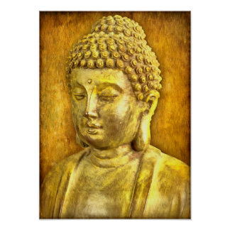 Be the Buddha Poster