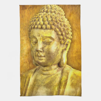 Be the Buddha Tea Towel