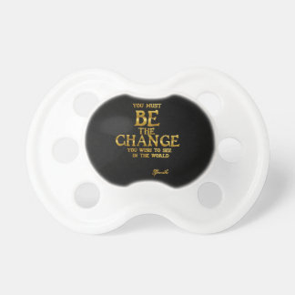 Be The Change - Gandhi Inspirational Action Quote Dummy