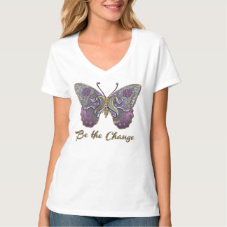 Be the Change ~ Sparkling Glitter Butterfly Shirt