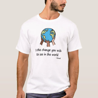 Be the Change t-shirts