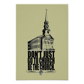 Christian Poster: Be The Church