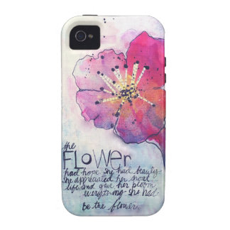 Be the Flower iPhone 4 Case