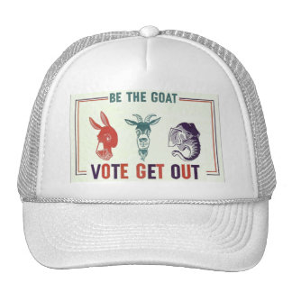 BE THE GOAT HATS