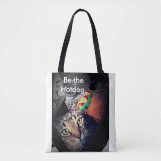 Be the Hotdog Tote Bag