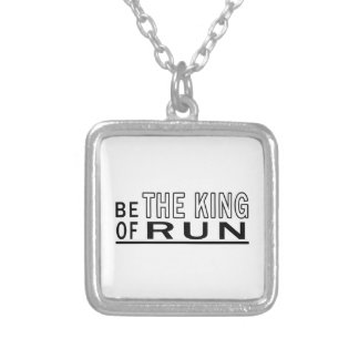 Be The King Of Run Custom Necklace