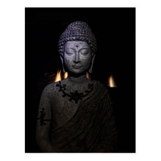Be the light in the world, Buddha Postcard